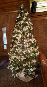 2015 Chrismon Tree with Doves