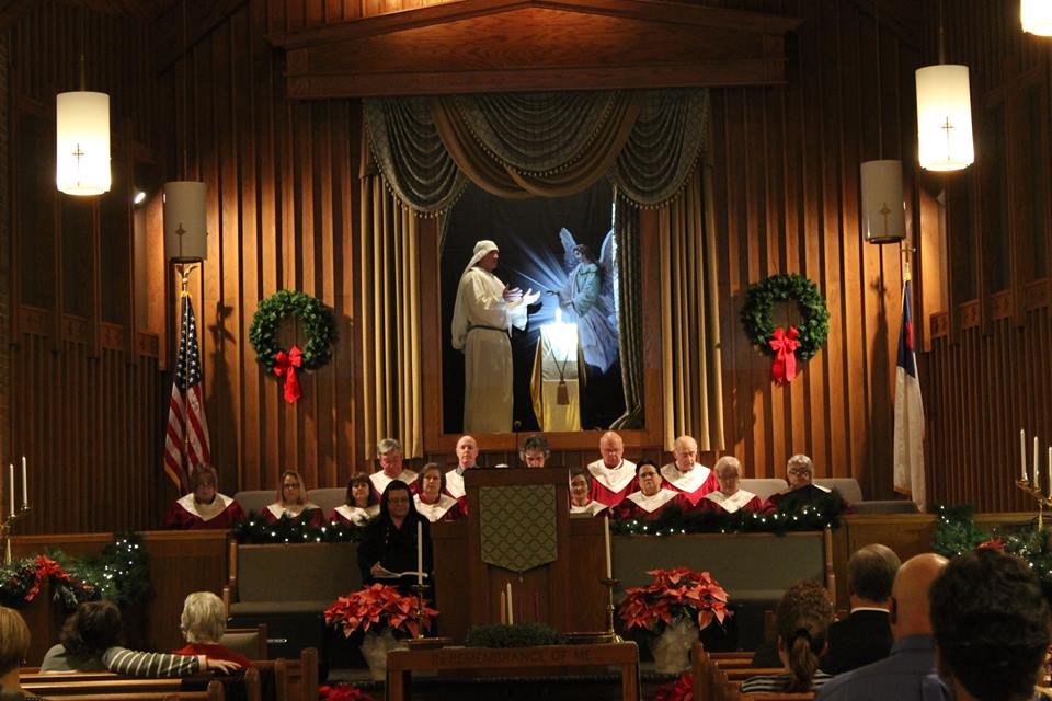 2015_Christmas Cantata_Choir_Angel